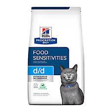 Hill's® Prescription Diet® d/d Skin/Food Sensitivities Cat Food - Grain Free, Duck & Green Pea