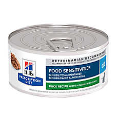Hill's® Prescription Diet® d/d Skin/Food Sensitivites Cat Food - Duck