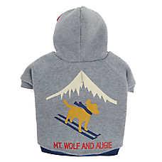ED Ellen DeGeneres Augie Ski Dog Sweatshirt