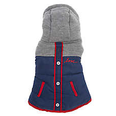 ED Ellen DeGeneres Hooded Dog Jacket