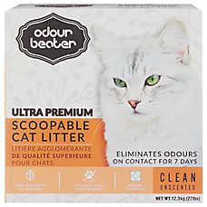 Odour Beater Ultra Premium Scoopable Cat Litter - Unscented