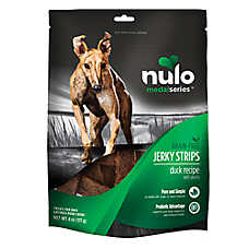 Nulo MedalSeries Jerky Strips Dog Treat - Natural, Grain Free, Duck Recipe