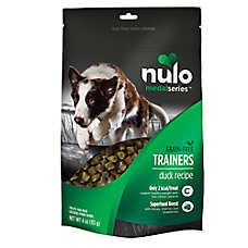 Nulo MedalSeries Trainers Dog Treat - Natural, Grain Free, Duck Recipe