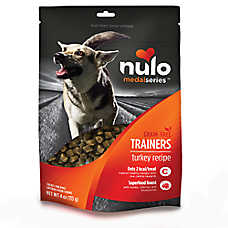 Nulo MedalSeries Trainers Dog Treat - Natural, Grain Free, Turkey Recipe