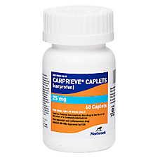 Carprofen Tablet (Generic to Rimadyl, Novox, Vetprofen)