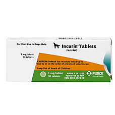 Incurin Tablets for Female Dogs - 30ct