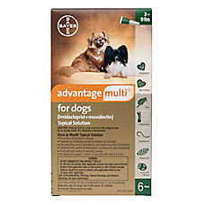 Advantage Multi® Topical Solution for Dogs - 6 Pack