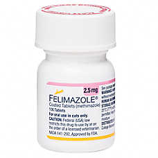 Methimazole for Cats (Generic of Tapazole)