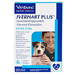 Iverhart Plus Chewable Tablets for Dogs - 6 Pack