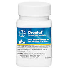 Drontal Dewormer Tablet for Cats