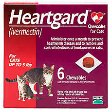Heartgard Chewables for Cats - 6 Pack