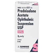 Prednisolone Acetate 1% Ophthalmic Solution