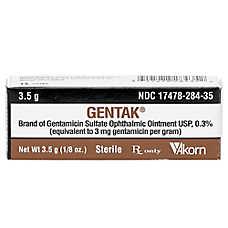 Gentamicin Opthalmic Ointment