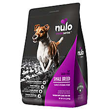Nulo MedalSeries Small Breed Puppy & Adult Dog Food - Natural, Grain Free, Turkey & Chickpeas Recipe