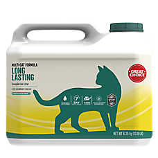 Grreat Choice® Long Lasting Scoopable Cat Litter - Mulit-Cat, Fragrance Free