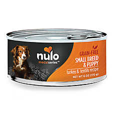 Nulo MedalSeries Small Breed Puppy & Adult Dog Food - Natural, Grain Free, Turkey & Lentils Recipe