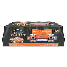 Purina® Pro Plan® Savor® Adult Dog Food - Grain Free, Chicken & Turkey Variety Pack, 12ct