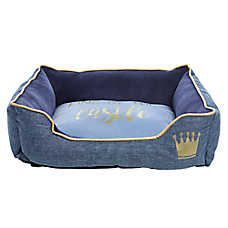 "Top Paw® Puppy ""King of the Castel"" Cuddler Pet Bed"