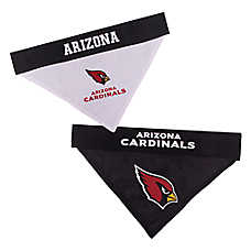 Pets First Arizona Cardinals NFL Reversible Bandana
