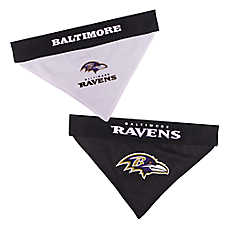 Pets First Baltimore Ravens NFL Reversible Bandana