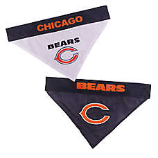 Pets First Chicago Bears NFL Reversible Bandana