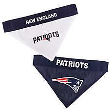 Pets First New England Patriots NFL Reversible Bandana