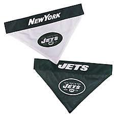 Pets First New York Jets NFL Reversible Bandana