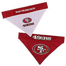Pets First San Francisco 49ers NFL Reversible Bandana