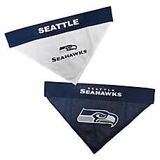 Pets First Seattle Seahawks NFL Reversible Bandana