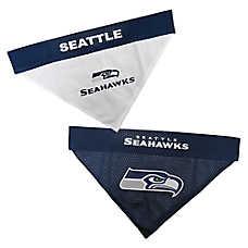 Pets First Seattle Seahawks NFL Reversible Bandana
