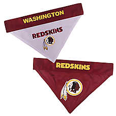 Pets First Washington Redskins NFL Reversible Bandana
