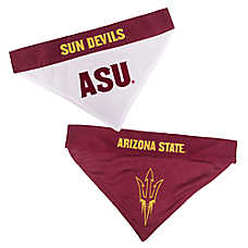 Pets First Arizona State Sun Devils NCAA Reversible Bandana