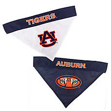 Pets First Auburn Tigers NCAA Reversible Bandana