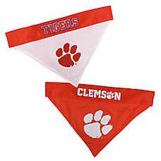 Pets First Clemson Tigers NCAA Reversible Bandana