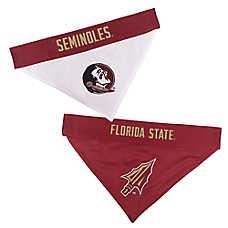 Pets First Florida State Seminoles NCAA Reversible Bandana