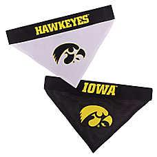 Pets First Iowa Hawkeyes NCAA Reversible Bandana