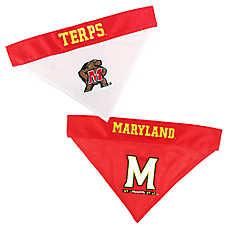 Pets First Maryland Terrapins NCAA Reversible Bandana