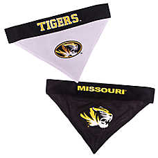 Pets First Missouri Tigers NCAA Reversible Bandana