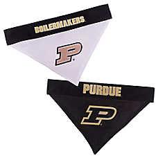 Pets First Purdue Boilermakers NCAA Reversible Bandana