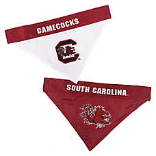 Pets First South Carolina Gamecocks NCAA Reversible Bandana