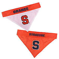 Pets First Syracuse Orange NCAA University Bandana