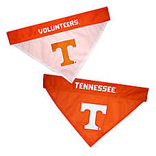 Pets First Tennessee Volunteers NCAA Reversible Bandana