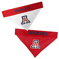 Pets First Arizona Wildcats NCAA Reversible Bandana