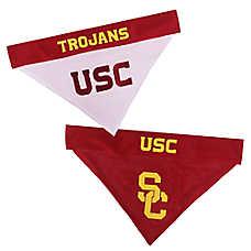 Pets First USC Trojans NCAA Reversible Bandana