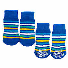 Top Paw® Striped Pet Socks