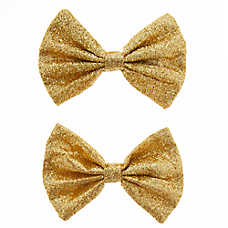 Top Paw® Glitter Hair Bows