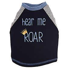 """Top Paw® """"Hear Me Roar"""" Puppy Pet Tee"""