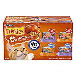 Purina® Friskies® Cat Food - Turkey & Chicken Favorites, 40ct