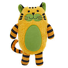 Grreat Choice® Safari Tiger Dog Toy - Plush, Squeaker