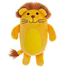 Grreat Choice® Safari Lion Dog Toy - Plush, Squeaker